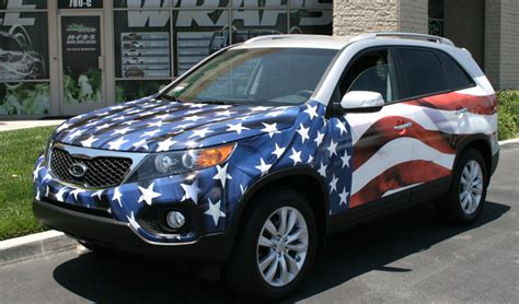 Patriotic wrap 2   Car Wraps and Vehicle Wraps   Gatorwraps