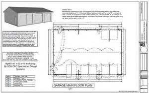 garage plans free g465 40x60x10 workshop garage plan free house plan reviews