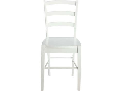 chaise juliette coloris blanc vente de chaise conforama