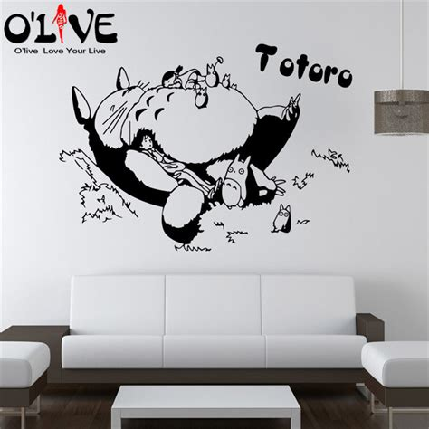 totoro wall sticker buy wholesale totoro wall sticker from china totoro
