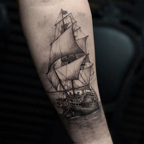 yacht tattoo designs best 25 boat tattoos ideas on half sleeve