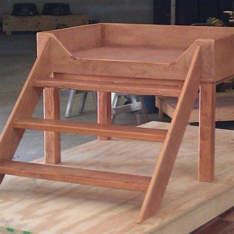 dog stairs for high bed elevated dog bed bed platform and dog beds on pinterest