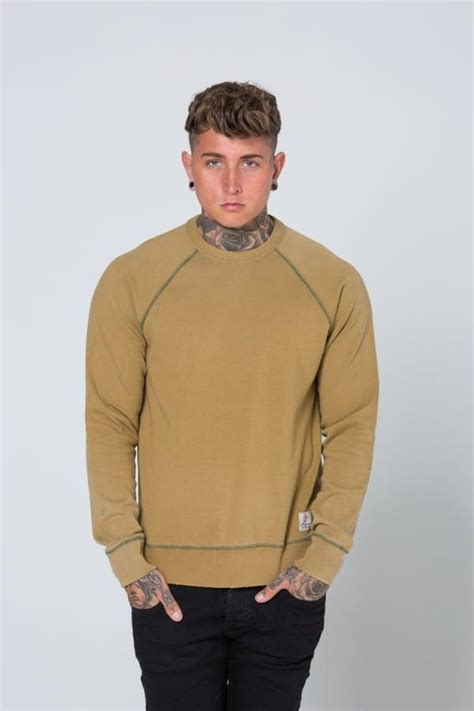Marshall Raglan lyst franklin marshall raglan sleeve fleece sweatshirt