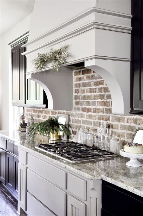 brick backsplash for kitchen best 25 kitchen backsplash ideas on
