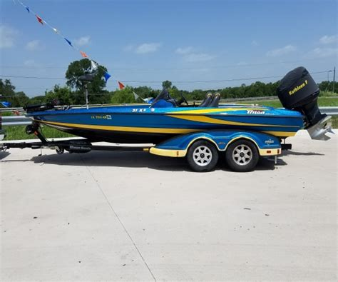 triton boats houston tx triton boats for sale in texas used triton boats for