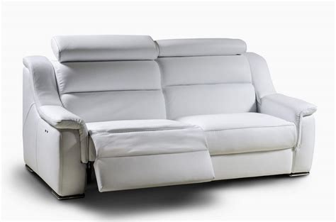 couch with two recliners two seater sofa with headrest reclining backrest idfdesign