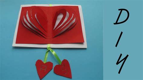 valentinstag deko basteln valentinstag geschenk karte basteln deko ideen mit flora