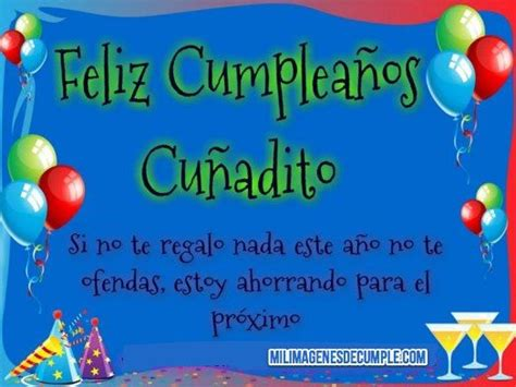 imagenes de happy birthday para un cuñado imagenes de feliz cumplea 241 os cu 241 ado jpg 524 215 393
