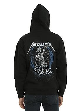 Sweater Metallica Anime metallica and justice for all hoodie topic