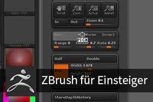 zbrush tutorial interface tutorial zbrush f 252 r einsteiger 1 3 user interface