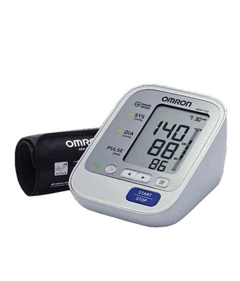 Omron Auto Blood Pressure Monitor by Omron Hem 7132 Auto Bp Monitor Buy Omron Hem 7132 Auto Bp