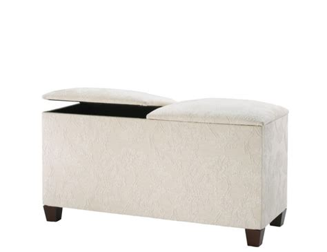 ottoman with twin bed inside normandy twin lid upholstered ottoman