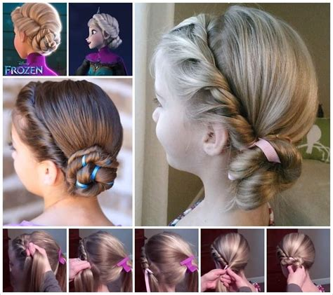 forzen haircuts spectacular disney frozen movie inspired hairstyle