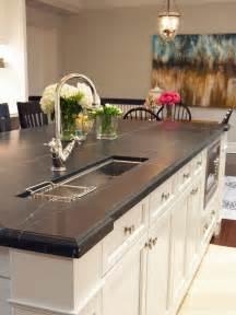 kitchen sink island 10 high end kitchen countertop choices kitchen ideas