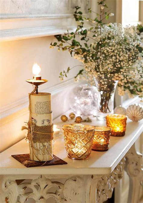 como decorar velas de navidad diy con velas para navidad decoracion in