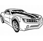 Transformers Car Coloring Pages  Only