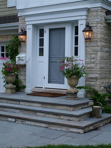 bluestone brick front entrance steps masonry patios bluestone front entry stoop front entry stoop with