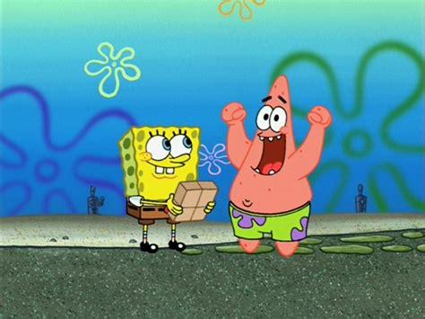 image waiting spongebob and patrick jpg encyclopedia