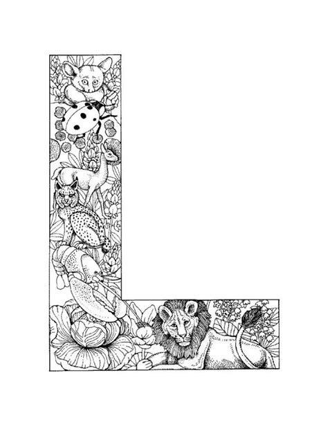 Alphabet L Coloring Pages by Who Think Alphabet Coloring Pages
