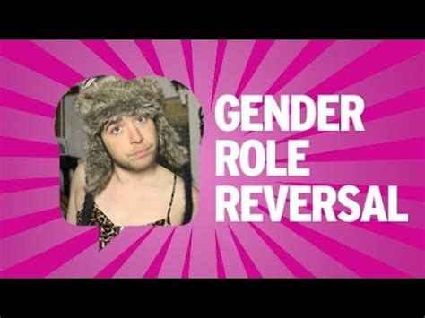 What is gender role reversal in a marriage