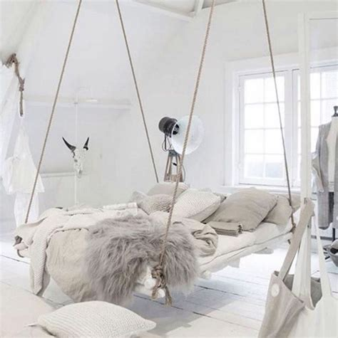 bedroom swings best 25 suspended bed ideas on pinterest tropical kids
