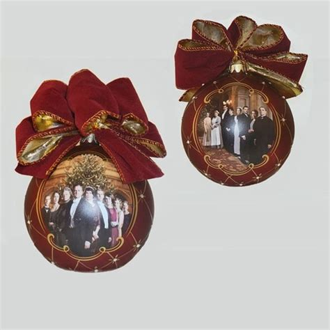 not added 120mm glass ball ornament with bow ornament