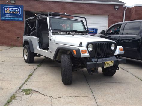 2006 Jeep Unlimited Soft Top 2006 Jeep Wrangler Unlimited 4 0l Auto Soft Top