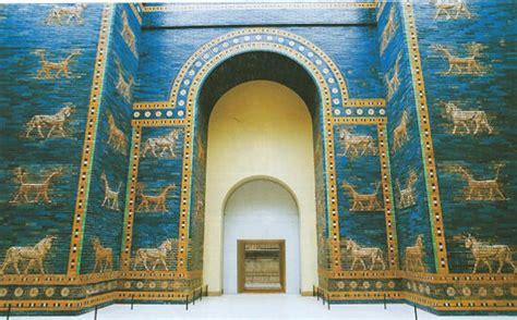 le porte di babilonia la porta di ishtar e la via delle processioni studia rapido