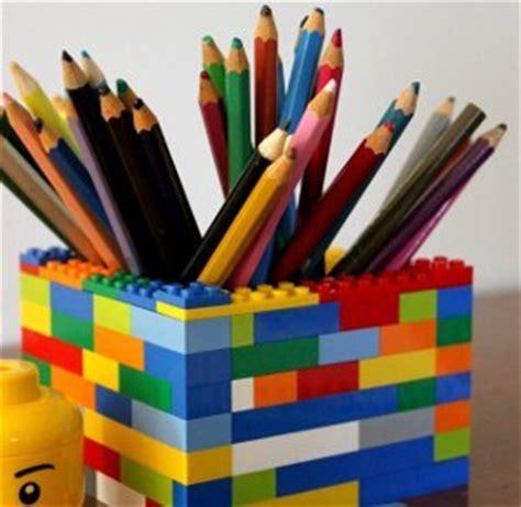 Simple Lego Desk Organizer Allfreekidscrafts Com Lego Desk Organizer