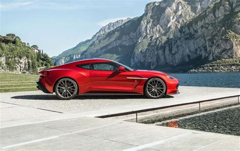 aston martin vanquish 2016 aston martin vanquish zagato production car revealed