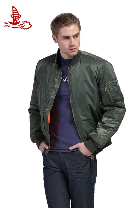 Jaket Bomber Army Jaket Wanita aliexpress buy freelee 2016 high quality ma1 thick winter army green motorcycle