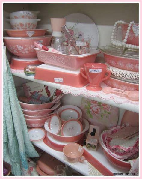 pink kitchen canister set ca 1950 s fabfindsblog 1000 images about vintage kitchen on pinterest dinette