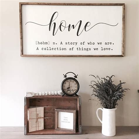 define home decor home definition sign home quote sign home sign a story of