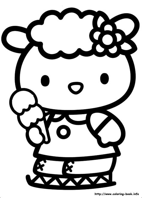 hello kitty i love you coloring pages hello kitty coloring picture