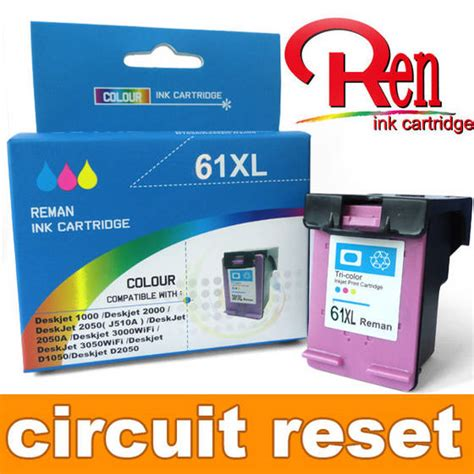 hp ink resetter sell new tehc hp 61xl ink cartridge reset chips show ink