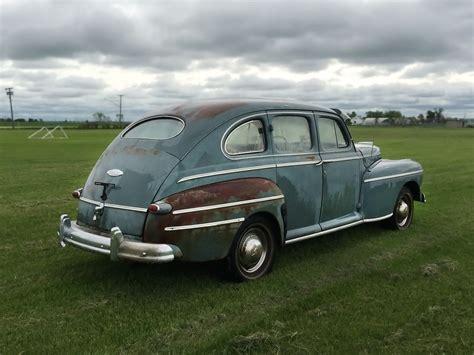 ford monarch cool canadian car 1947 mercury monarch sedan