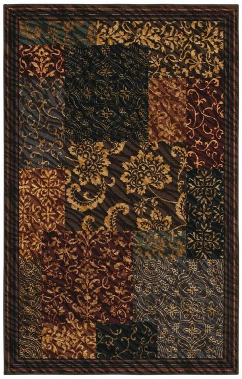 Mohawk Area Rugs 8x10 by Flooring Brown With Floral Design Area Rugs Lowes