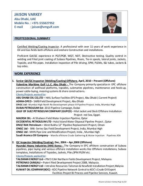offshore resume sles commonpence co