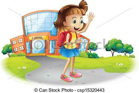 imagenes niños yendo al colegio eduque en casa yendo ni 241 a escuela ilustraci 243 n yendo