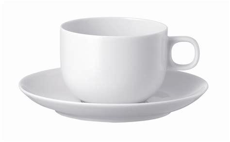 Coffee Cup With Saucer rosenthal studio line moon white coffee cup saucer