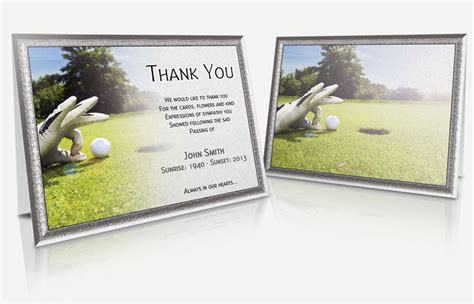 funeral thank you cards templates thank you card template