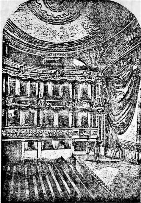 Victorian Home Interior The Interior Of The Lyceum 1834 1856