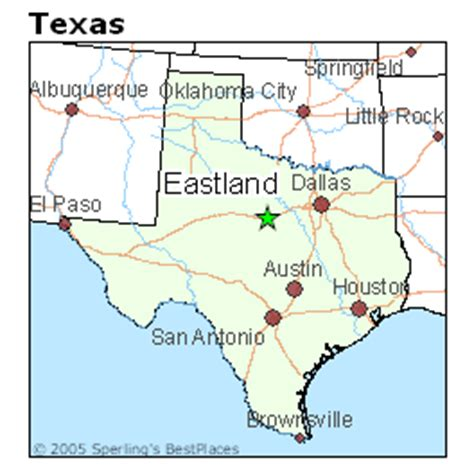 eastland texas map best places to live in eastland texas