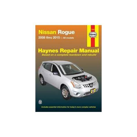 service manual hayes car manuals 2012 nissan rogue auto manual nissan rogue manual nissan rogue 2008 2015 rth072042 revue technique haynes anglais