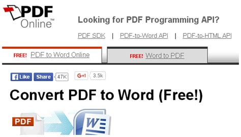 convert pdf to word online 8 best online pdf to word converter that deserve everybody
