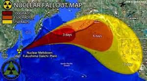 nuclear fallout map canada canada 2 0 fukushima tracce di radioattivit 224 al largo