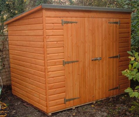 Shed Pent by Pent Garden Storage Sheds Garden Pleasure