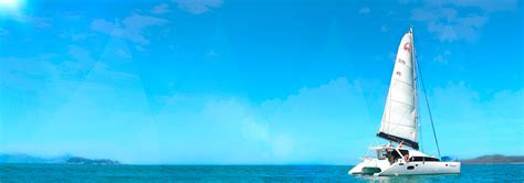 sailing boat whitsundays charter yachts australia skipper yourself sailing