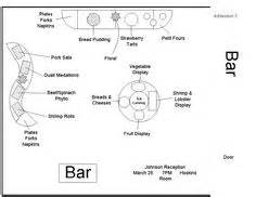 Dining Room Chair Skirts buffet table diagram