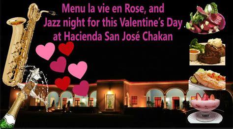 valentines day san jose jazz evening this valentine s day at hacienda san jos 233